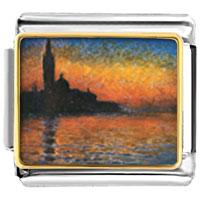 Italian Charms - monet' s san giorgio maggiore italian charm bracelet photo italian charm Image.