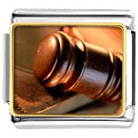 Italian Charms - the law italian charms bracelet link photo italian charm Image.