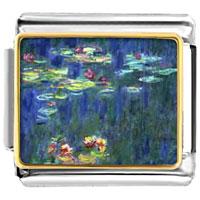 Italian Charm Monet Water Lilies