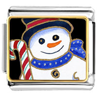 Italian Charms - gifts christmas gifts snowman and halloween candy cane italian charms bracelet link gift photo italian charm Image.