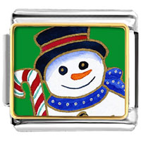 Italian Charms - gifts halloween candy cane christmas gifts snowman italian charms bracelet link gift photo italian charm Image.