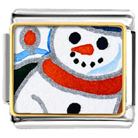 Italian Charms - gifts sunset christmas gifts snowman italian charms bracelet link photo italian charm Image.