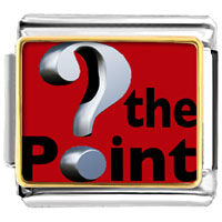 Italian Charms - whats the point red italian charms bracelet link photo italian charm Image.