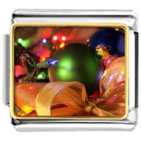 Italian Charms - christmas tree gifts decorations italian charms bracelet link photo italian charm Image.