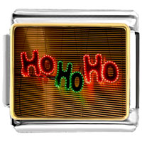 Italian Charms - ho christmas lights italian charms bracelet link photo italian charm Image.