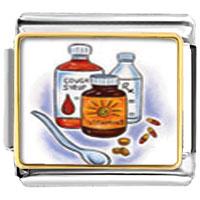 Items from KS - medical remedies italian charms bracelet link photo italian charm Image.