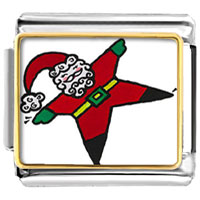 Italian Charms - christmas gifts snowman santa claus snow angel italian charms photo italian charm Image.