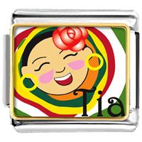 Italian Charms - happy tia italian charm bracelet bracelet link photo italian charm Image.