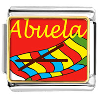 Italian Charms - abuela sewing work italian charms bracelet link photo italian charm Image.