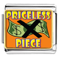 Italian Charms - priceless piece italian charms bracelet link photo italian charm Image.