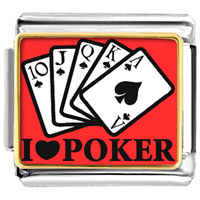 Italian Charms - i love poker italian charms photo italian charm Image.
