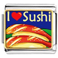 Italian Charms - i heart sushi italian charms photo italian charm Image.