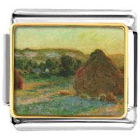 Italian Charms - wheatstacks painting italian charms bracelet link photo italian charm Image.