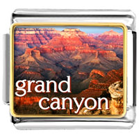 Grand Canyon Photo 9 Mm Italian Charm For Bracelets
