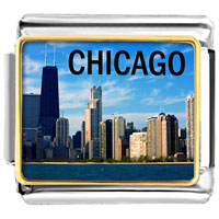 Chicago Photo Italian Charm Charms