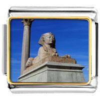 Italian Charms - sphinx classic italian charm art photo italian charm Image.