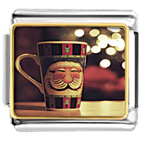 Items from KS - cute coffee cup photo italian charm Image.
