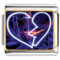 Items from KS - charming electricity heart photo italian photo italian charm Image.