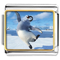 - dancing penguin photo italian charm Image.