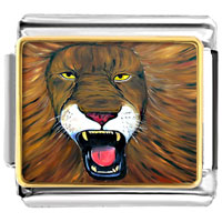 - angry lion photo italian charm Image.