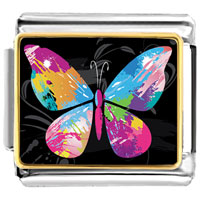 Colorful Butterfly Photo Italian Charm