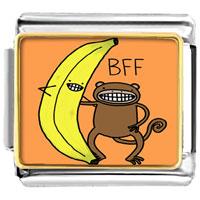 - cute banana bear bff photo italian charm Image.