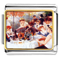 - luncheon of the boating party photo italian charm Image.