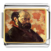- self portrait of cezanne photo italian charm Image.