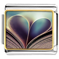 Italian Charms - happy valentines day love photo charm photo italian charm Image.