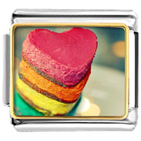 Pugster Gift Center - sweet heart love photo charm photo italian charm Image.