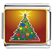 Italian Charms - christmas tree gifts bright italian charms bracelet link photo italian charm Image.