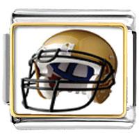 Items from KS - football helmet sports italian charms bracelet link photo italian charm Image.