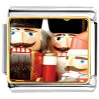 Italian Charms - christmas nutcrackers italian charms bracelet link photo italian charm Image.