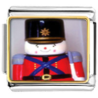 Italian Charms - soldier boy christmas italian charms bracelet link photo italian charm Image.
