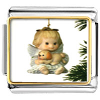 Italian Charms - bracelet angel ornament religious italian charms photo photo italian charm Image.
