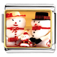 Italian Charms - charms santa claus mr &  mrs christmas gifts snowman italian charms bracelet link photo italian charm Image.