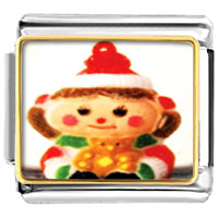 Italian Charms - christmas doll italian charms bracelet link photo italian charm Image.