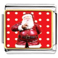 Italian Charms - santa claus christmas gift quiet italian charms bracelet link photo italian charm Image.