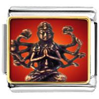 Items from KS - bracelet bodhisatva chenrezig statue religious italian charms link photo italian charm Image.