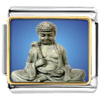 Items from KS - bracelet stone religious italian charms link photo italian charm Image.