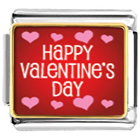 Italian Charms - happy valentine' s day italian charms photo italian charm Image.