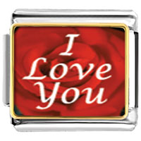 Italian Charms - i love you italian charm bracelet photo italian charm Image.