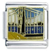 Golden Gate Bridge Italian Charm Bracelet Bracelet Link X2 Italian Charm