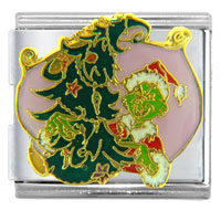 Christmas Christmas Tree Gifts Grinch And Licensed Italian Charms Bracelet Link Mega