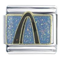 St Louis Arch Italian Charm Bracelet Bracelet Link X2 Italian Charm