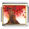 Beautiful Red Maple Tree Photo Italian Charms Links