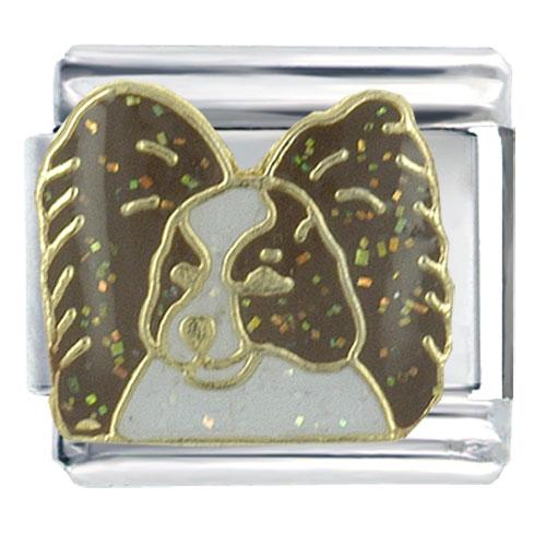Italian Charms - papillon animal italian charms bracelet link x2  italian charm Image.